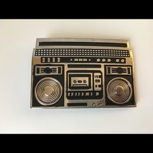 Other - Boombox Oldschool Stereo Belt Buckle